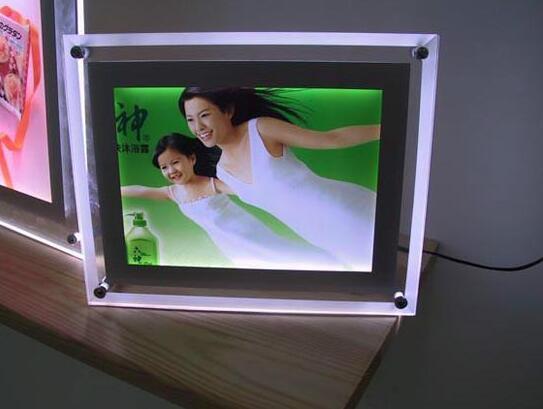 桌面水晶灯箱